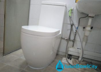 Toilet Bowl Installation in Singapore Condo – Seng Kang