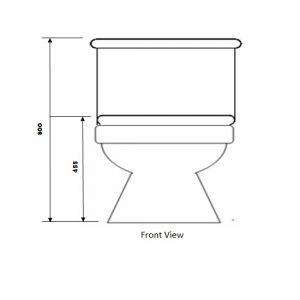 Baron toilet bowl W-203A toilet bowl city singapore 2