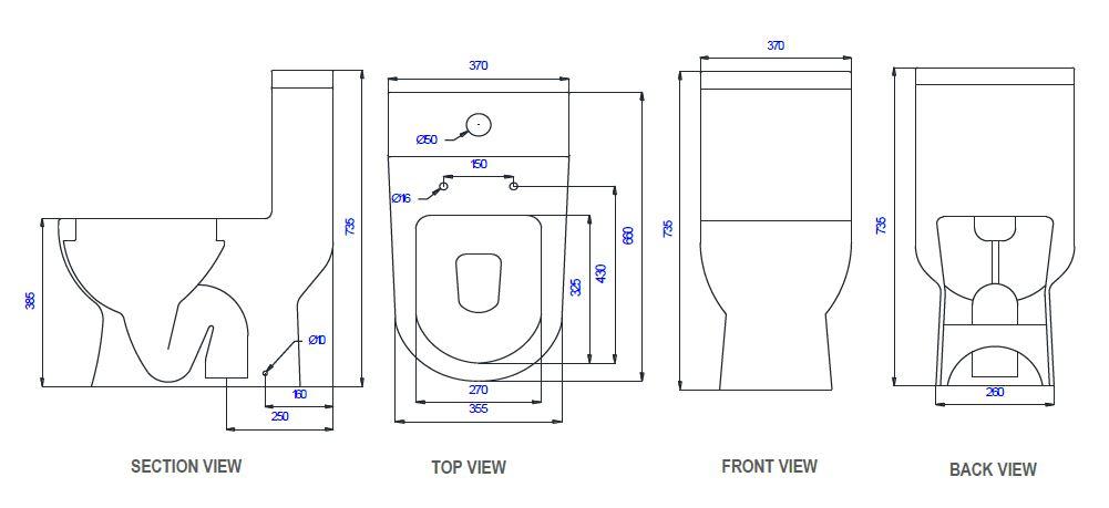 Saniton Melissa-st2452 features toilet bowl city singapore
